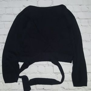 Sweaters - Envelope crop cardigan size S